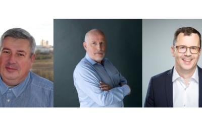 Drei neue Gesichter im edna-Vorstand