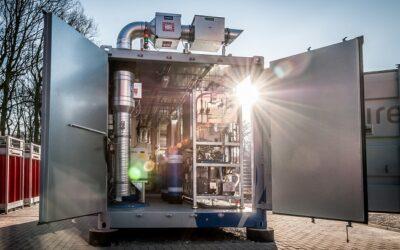 Vorstellung des Wasserstoff-Testfelds am ZBT