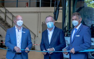 Start für Fahrzeugproduktion mit Wasserstoffantrieb bei FAUN