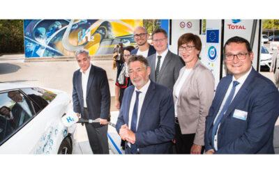 50. Wasserstofftankstelle Deutschlands in Potsdam eröffnet