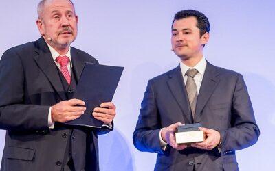 Verleihung des DIN-Ehrenringes an Prof. Dr.-Ing. Klaus Homann