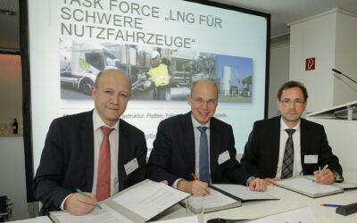 dena, DVGW und Zukunft ERDGAS wollen LNG als Kraftstoff etablieren