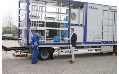 Aus der Praxis: Mobile Erdgasverdichter für die Versorgungssicherheit
