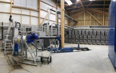 Französische Biomethananlage von Weltec Biopower geht ans Netz