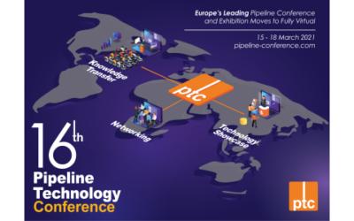 ptc 2021 wird zum Online-Event: Kostenlose Teilnahme für Pipelinebetreiber