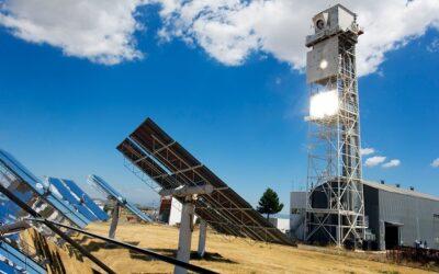Faszination Energie: Wasserstoffherstellung mit konzentrierten Sonnenstrahlen