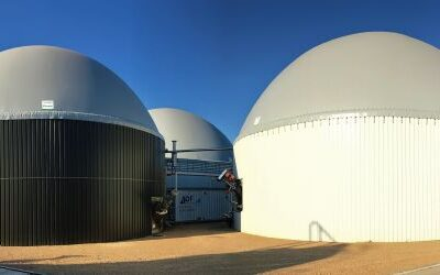 First biomethane connection to the gas network driven by a private initiative
