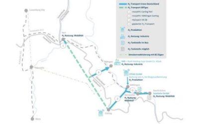 Grenzüberschreitendes Wasserstoffprojekt an der Saar strebt IPCEI-Förderung an