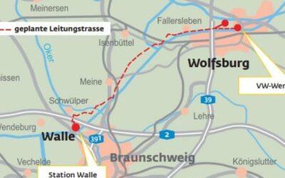 Gasunie: Behörde genehmigt Bau der Gasleitung nach Wolfsburg