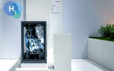 neoTower-Blockheizkraftwerke sind startklar für Wasserstoff