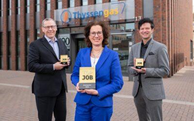 Thyssengas erhält erstmals Top-Job-Award