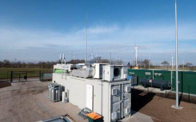 Grüner Wasserstoff aus Windenergie: Elektrolyseur in Haurup nimmt die Produktion auf