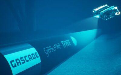 Transportleitung für Grünen Wasserstoff aus der Nordsee