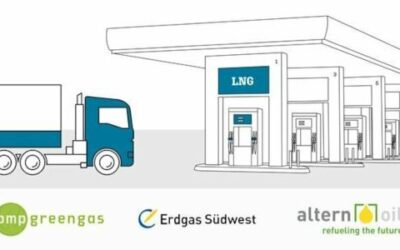 Startschuss für Bau einer der ersten Biomethanverflüssigungsanlagen in Deutschland