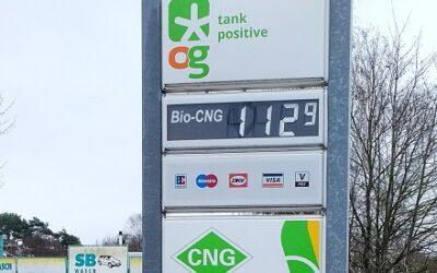 OrangeGas führt bundesweit einheitliche Preise für Bio-CNG ein.
