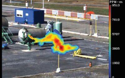 Automatisierte Methan-Überwachungslösung für Gas-Lecks