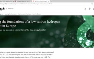 Studie: Grüner Wasserstoff wird 2030 wettbewerbsfähig