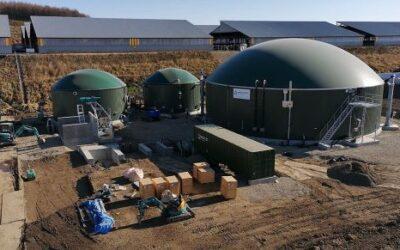 Weltec realisiert zwei Biogasanlagen  mit spezieller Anlagenstatik in Erdbebenregionen in Japan