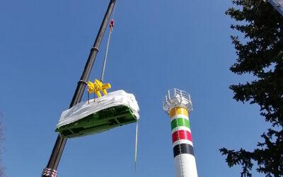 Zweiter Gasmotor für neues Heizkraftwerk der Stadtwerke Gotha