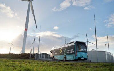 GP JOULE übergibt umweltfreundliche Wasserstoffbusse an DB-Tochter Autokraft