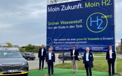 """H2NORD erzeugt Wasserstoff """"Von der Küste in den Tank"""""""