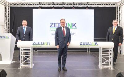 ZEELINK: Fernleitung und technische Anlagen sind startklar