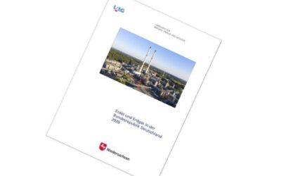 Förderung von Erdöl und Erdgas in Deutschland sinkt weiter