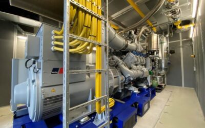EWE-Blockheizkraftwerk versorgt Gewerbe- und Wohnpark in Finowfurt