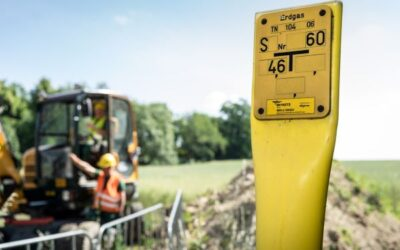 Mitnetz Gas überwacht Gasleitungen aus dem All