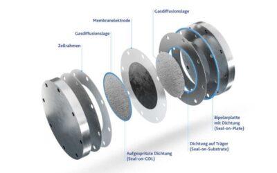 Freudenberg Sealing Technologies liefert Dichtungen für die Wasserstoffproduktion per Elektrolyse