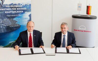 MAN Energy Solutions und Andritz Hydro vereinbaren Wasserstoff-Kooperation