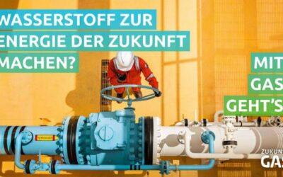 Gaswirtschaft startet bundesweite Kampagne: Mit Gas geht's!