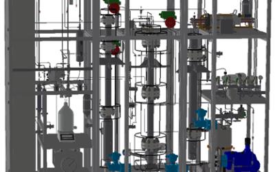 Fachbericht: Methanolherstellung aus Biogas mittels Dreiphasenreaktor (COOMet)