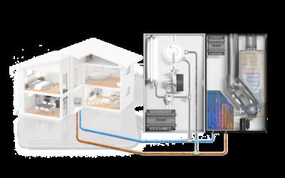 Wärmepumpen, Gas-Brennwerttechnik oder Hybridsystemen- Systemkomponenten für moderne Heizanwendungen