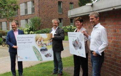 Hamburger Wohnen eG und HanseWerk Natur: Biomethan und Solarthermie für Hamburger Wohnquartier