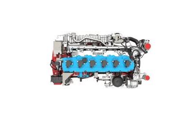 Deutz-Wasserstoffmotor im Heizkraftwerk der RheinEnergie