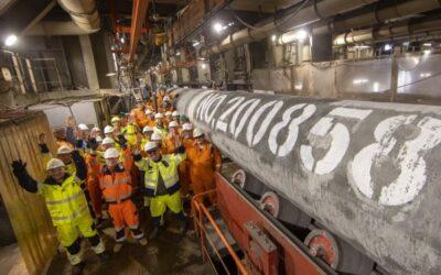 Letztes Rohr der Nord Stream-2 Pipeline verschweißt