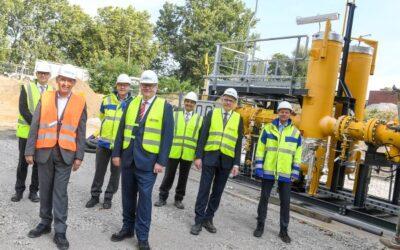 Thyssengas und STEAG starten Erdgasbelieferung für Gas- und Dampfturbinen-Kraftwerk  in Herne