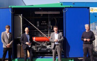 Aus Biogas wird Wasserstoff: Stefan Kaufmann setzt auf Zukunftstechnologien