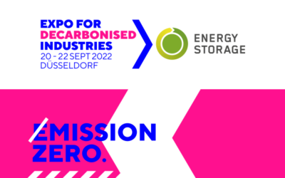 Evolutionsschritt für Energy Storage > Expo for Decarbonised Industries
