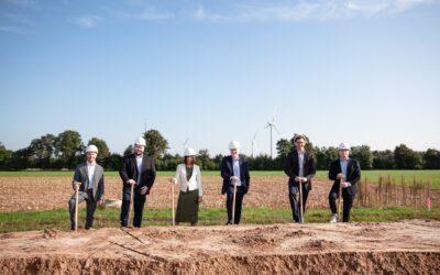 Spatenstich für Massenproduktion von Enapter-Elektrolyseuren in Nordrhein-Westfalen