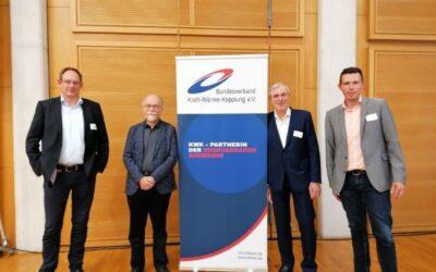 Neubesetzungen im Präsidium beim Bundesverband Kraft-Wärme-Kopplung e.V.