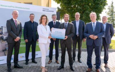 """Wasserstoffprojekt """"Energiepark Bad Lauchstädt"""" erhält Fördermittelbescheid als Reallabor der Energiewende"""