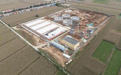 Envitech baut 8. Biogasanlage in China