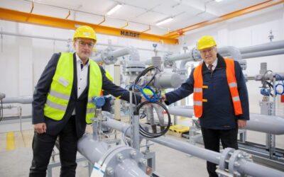 Deutschlands erste klimaneutrale Gasstation steht in Potsdam