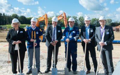 Grundsteinlegung für Gaskraftwerk Leipheim