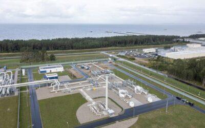 Der erste Strang der Nord Stream 2-Pipeline ist mit technischem Gas gefüllt
